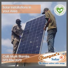 Solar will keep you connected when Loadshedding kicks in. #poweredbysolar #solarpower #bergens #solar #solarsolution #southafrica #power #bergenssolar #gogreen #weharnessnaturessolarenergy #loadshedding  Call Mark for a Quote Phone: 073 556 0073 Email: mark@bergens.co.za