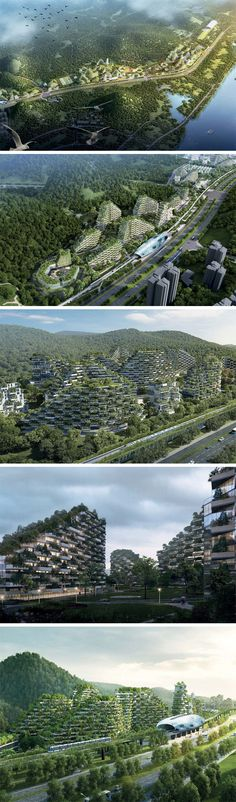 With a legacy of vertical forests around the world, Stefano Boeri decided that one single tower wasn't enough. His latest endeavor is the world's first Forest City in Liuzhou, South China. Designed for humans and greenery to coexist in a format that is as modern as eco-friendly, as well as a radical plan to battle China's smog problem.