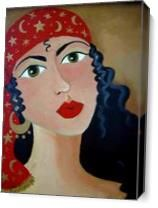 Gypsy Free As Canvas