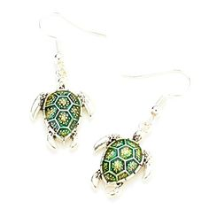 Sea Life Fashion Lacquered Turtle Dangle Earrings for Wom... https://www.amazon.com/dp/B06XFSC95W/ref=cm_sw_r_pi_dp_x_.qKVybWX4KG12
