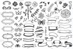 310 elements - Big Vintage Set - Objects - 4