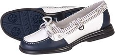 Blue Sandbaggers Ladies Caravelle Golf Shoes at #lorisgolfshoppe