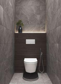 35 x Toilet Inspiration With Cool Design Toilet Ideas Of Washbasins, Floating Toilet, Tiles & Sinks - 35 x Toilet Inspiratie Met Gave Design WC Ideeën Van Wastafels, Zwevend Toilet, Tegels & Wasbakken - Washroom Design, Bathroom Design Luxury, Bathroom Design Small, Washroom Tiles, Small Toilet Design, Small Toilet Room, Modern Toilet Design, Toilet Tiles Design, Contemporary Design