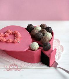 ciasto pudełko czekoladek  Bolo Caixa de Chocolates