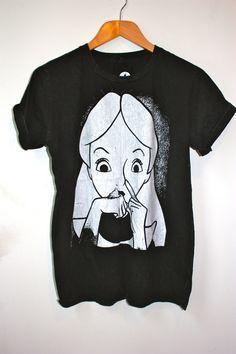 YoCoco Alice Cocaine acid wash t-shirt | eBay