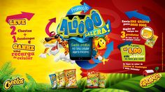 Fandangos & Cheetos - Promoção Alô Galera! on Behance