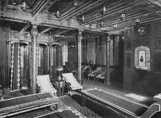 Turkish Bath (might be RMS Olympic) TITANIC - Images from the Titanic research & Modeling Association Forum Archive