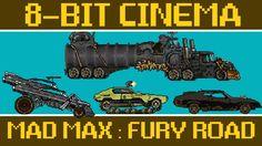 Die neue Ausgabe des 8-Bit Cinema hat den Streifen als pixeliges Wüstenrennen umgesetzt und dabei voll ins Schwarze getroffen. Die Grafik schaut dabei wunderbar Oldschool aus und nachdem muss ich mir gleich den Streifen nochmals reinziehen