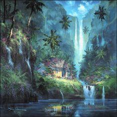 Reflective Paradise (tropical series)