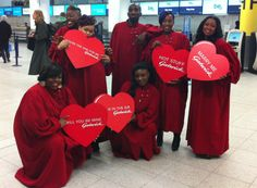 If you spotted the London Community Gospel Choir at the airport, we hope you enjoyed the performance!