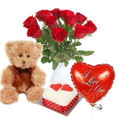 My Valentine flower delivery gift service UK #Valentine #ValentineGifts #ValentineFlowers