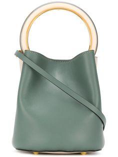 MARNI Pannier tote bag. #marni #bags #shoulder bags #hand bags #leather #tote #