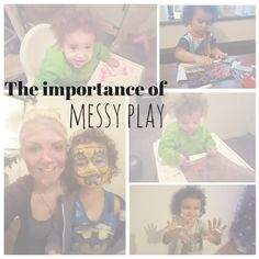 We all talk about messy play but do you know why it is so important for a child's development?