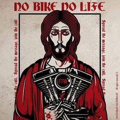 "511 curtidas, 10 comentários - Bobber Cult (@bobbercult) no Instagram: ""No Bike, no life. The God of Speed. #bobbercult #kustom_artworks #kustomkulture #pantocrator…"""