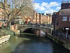 Duke Street Bridge Reading Berkshire UK