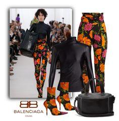 """""""FLower Girl"""" by fl4u ❤ liked on Polyvore featuring Balenciaga and springtrend"""