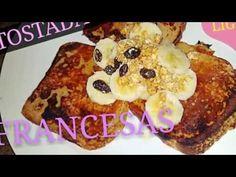 TOSTADAS FRANCESAS LIGHT / FRENCH TOAST - YouTube
