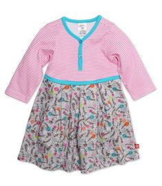 Pixie Toddler Pretty Pleats Dress #Zutano