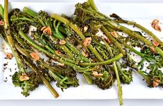 Salty, savory seasonings dress up sautéed broccolini in this easy, Asian-Style Broccolini Recipe. It takes just 10 minutes to make, so it's perfect for those times you need a quick and easy side dish recipe idea!