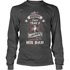 Aint Nobody Tougher Than A Lineman Except His Dad - Kids Long Sleeve T-Shirt  #gift #ideas #Popular #Everything #Videos #Shop #Animals #pets #Architecture #Art #Cars #motorcycles #Celebrities #DIY #crafts #Design #Education #Entertainment #Food #drink #Gardening #Geek #Hair #beauty #Health #fitness #History #Holidays #events #Home decor #Humor #Illustrations #posters #Kids #parenting #Men #Outdoors #Photography #Products #Quotes #Science #nature #Sports #Tattoos #Technology #Travel #Weddings…