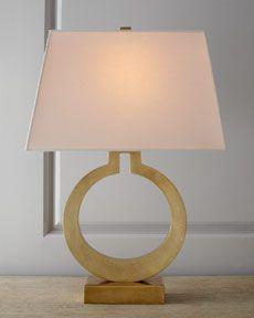 H4YA5 VISUAL COMFORT Brass Ring Lamp