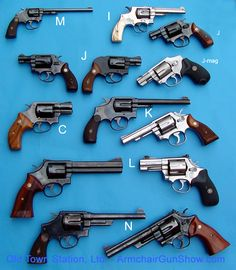 Smith & Wesson Model families - www.Rgrips.com