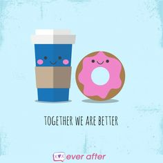 We go together like COFFEE & DONUT :-* #NationalBestFriendsDay