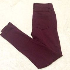 I just discovered this while shopping on Poshmark: Burgundy jeggings. Check it out! Price: $22 Size: 3J