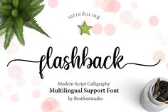 Flashback Script is handwritten Modern calligraphy fonts, combines from copperplate to contemporary typeface with a dancing baseline, classic and elegant touch. Can be used for various purposes.such as headings, signature, logos, wedding invitation, t-shirt, letterhead, signage, lable, news, posters, badges etc. Handwritten Fonts, Calligraphy Fonts, Script Fonts, All Fonts, Modern Calligraphy, Calligraphy Alphabet, Logo Generator, Character Map, Modern Fonts