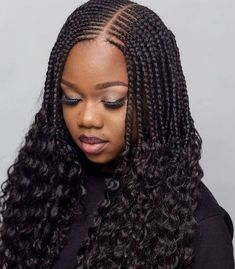 Twisted braids needs hair protectiveness. But this twisted hair is so unique. Because, it ends up with natualy curly hairs. #curly_twisted_briadshair. Short Box Braids Hairstyles, Latest Braided Hairstyles, Braids Hairstyles Pictures, Black Girl Braided Hairstyles, Twist Braid Hairstyles, African Braids Hairstyles, Twist Braids, Weave Hairstyles, Natural Hair Braids