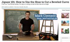 Mark talks Jigsaw 101: How to Use the Shoe to Cut a Beveled Curve for This Old House.