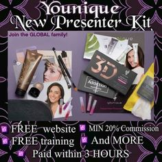 Younique's mission is to uplift, empower, validate, and ultimately build self-esteem in women around the world through high-quality products that encourage both inner and outer beauty. Join Younique, Younique Presenter, Best Mascara, Fiber Lashes, Busy At Work, Free Training, Love Makeup, Free Website, Natural Makeup