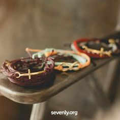 Some beautiful bracelets this week helping to save lives of babies in China! Get them here >> http://www.sevenly.org/products?category=pura-vida=SEVPinterestSevenly