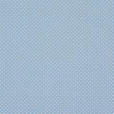Algodão Ring of Dots 1 - Algodão - azul