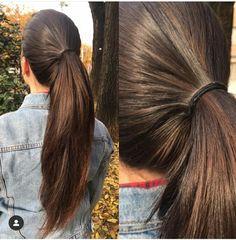 Long Hair Ponytail, Straight Ponytail, Ponytail Hairstyles, Wavy Hair, Beautiful Long Hair, Layered Cuts, Female Images, Hot Actresses, Hair Goals