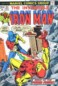 Iron Man #63, Dr Spectrum is back.