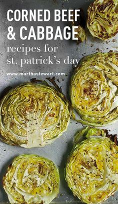 Corned Beef & Cabbage Recipes for St. Patrick's Day | Martha Stewart Living - Whether it's sandwiched between slices of rye in a Reuben or sliced and diced in a hash, hearty servings of corned beef, a salt-cured and seasoned beef brisket, are a St. Patrick's Day tradition. An Irish-American twist on more traditional bacon and cabbage, corned beef and cabbage is a celebratory nod to the Emerald Isle.