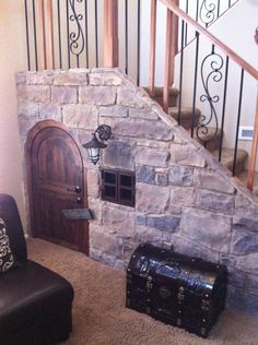 58 Cozy And Creative Kids Reading Nook Design Ideas Under Stairs