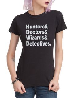 Supernatural& Doctor Who& Merlin& Sherlock. Pretty sure the wizards is for HP, but OH WELL. I prefer Merlin. << Why?!?!