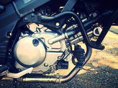 Suzuki Vstrom k8 motor