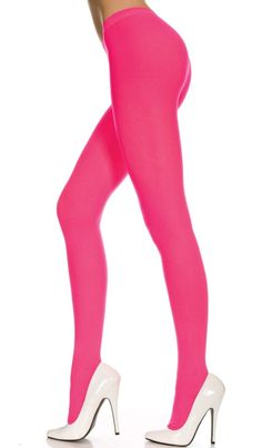 Autumn Winter Solid Opaque Pantyhose Stockings Tights 15 Candy Colors 2 Sizes US Princess Bubblegum Cosplay, East Coast Fashion, Winter Tights, Opaque Tights, Women's Tights, Stocking Tights, White Beige, Candy Colors, Sexy Outfits