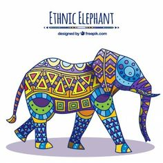 Decorado elefante Native