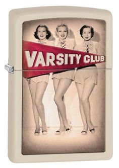 Zippo 28441 Pin Up Lighter Retro Varsity Club Cream Matte Finish 16th Birthday Gifts, Birthday Gifts For Girls, Best Gifts For Her, Gifts For New Moms, Cool Zippos, Best Humidor, Buffalo Bills Logo
