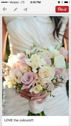 Flowers for bride