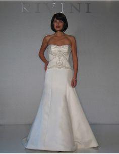 "Rivini by Rita Vinieris - ""Jacqueline"" Bridal Boutique, Bridal Collection, One Shoulder Wedding Dress, Wedding Gowns, Formal Dresses, Wedding Ideas, Beautiful, Design, Fashion"