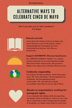 Cinco de Mayo #reclaimcinco