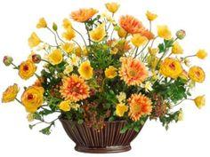 Images about centerpieces on pinterest silk flower centerpieces