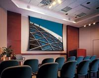 Motorized Projection Screen http://wiredbydesignwpg.com