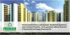 Introducing Premisin a well planned Residential Apartment with an eminent location. Each apartment reflects the proof of the peaceful and happy dreaming life.
