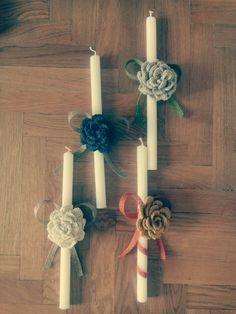 Handmade candles..